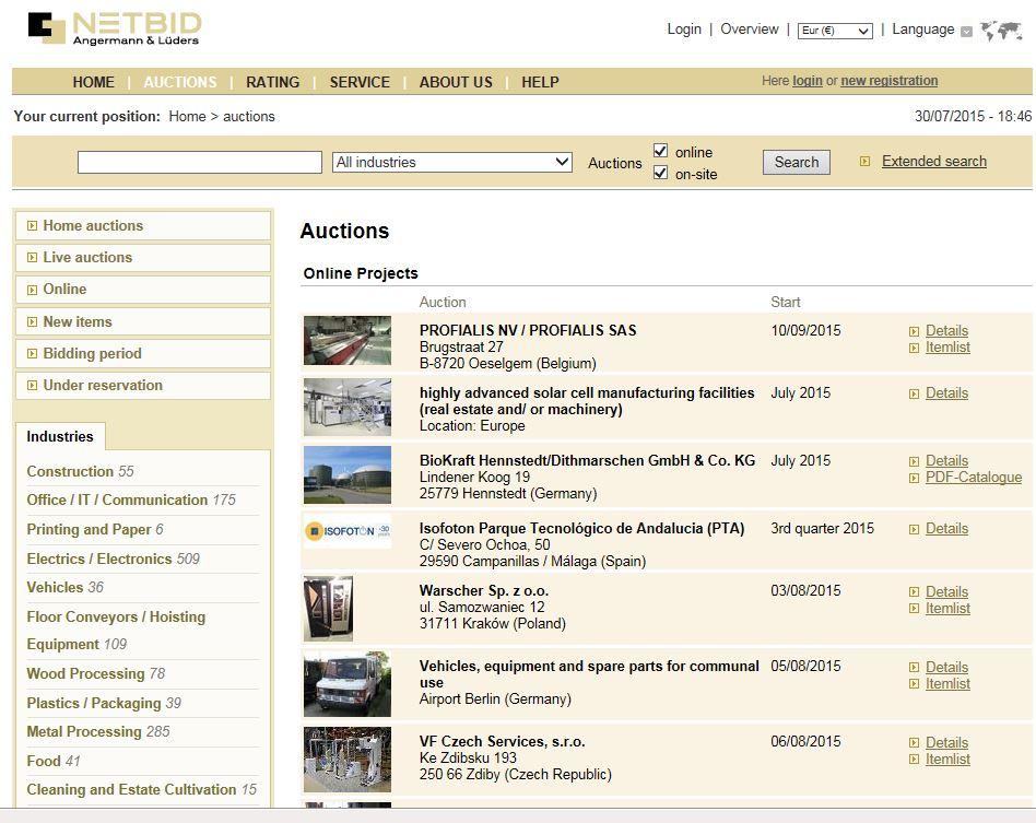 Remarketing of machines with NetBid Bulgaria